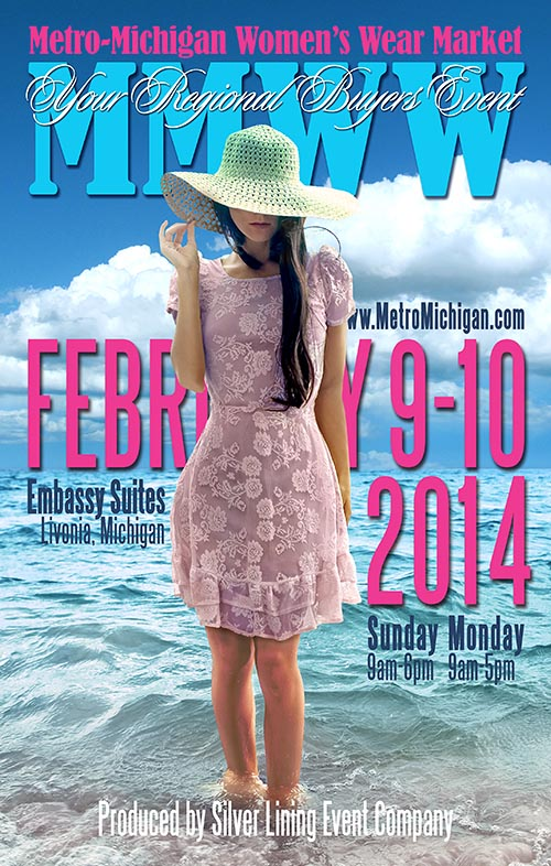 February 2014 Directory Cover for MMWWM Show in Livonia, Michigan
