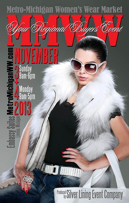 November 2013 Directory Cover for MMWWM Show in Livonia, Michigan