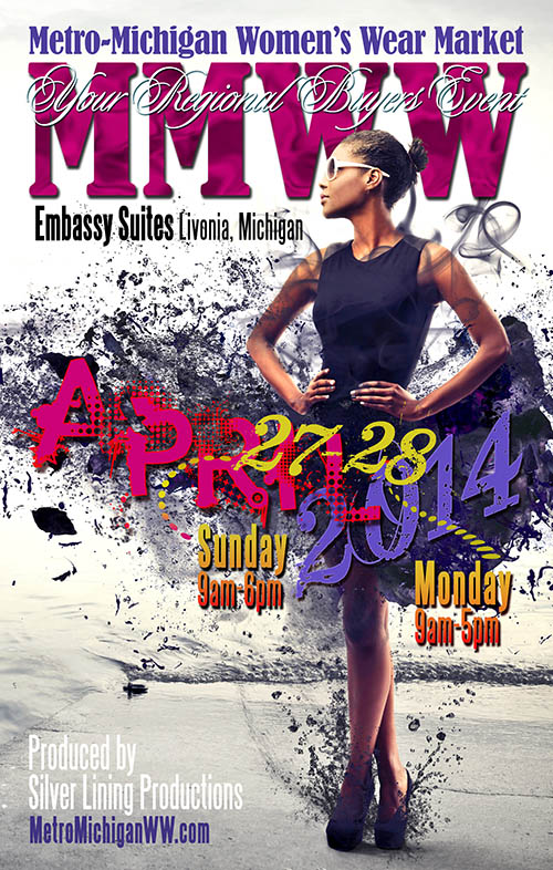 April 2014 Directory Cover for MMWWM Show in Livonia, Michigan