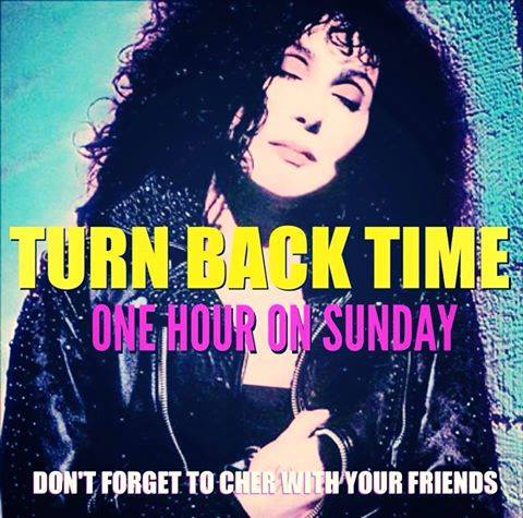 TURN BACK TIME & CHER WITH FRIENDS
